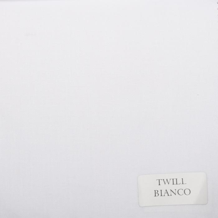 02 Twill bianco